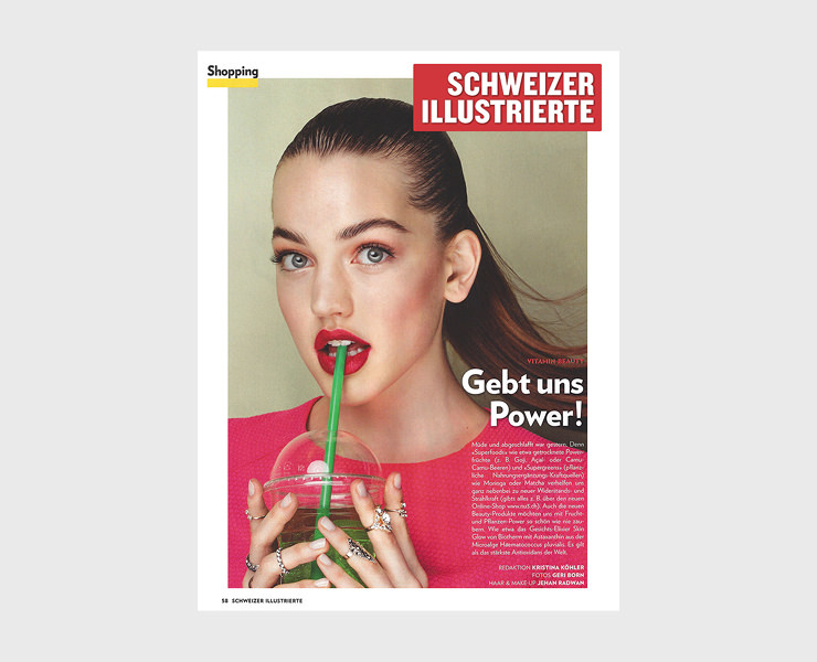 Kosho Cosmetics: Schweizer Illustrierte / Vitamin-Beauty