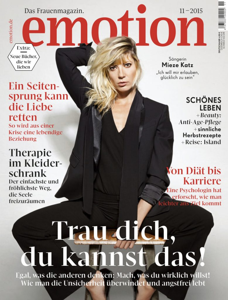 Kosho Cosmetics in der Emotion