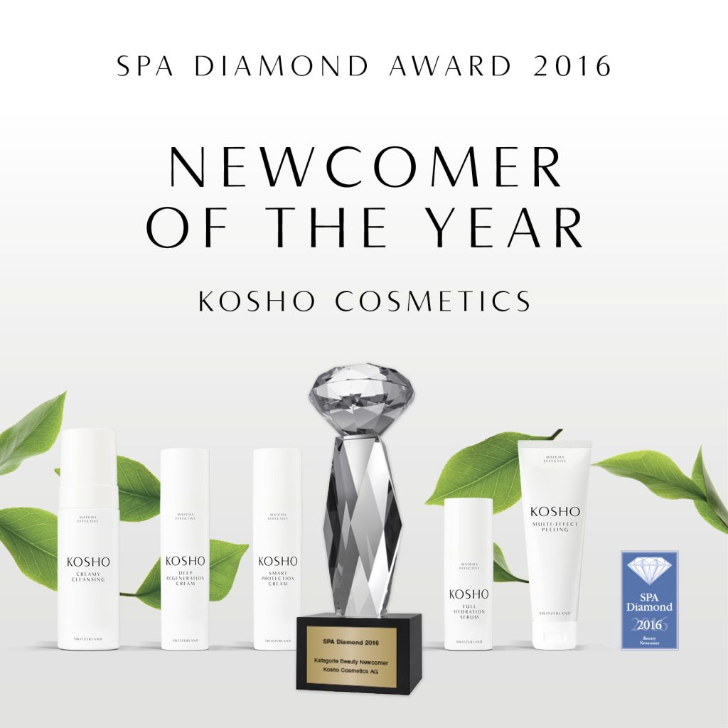 Kosho-Cosmetics-Naturkosmetik-made-in-Switzerland-News-SPA-Diamond-Award-Newcomer