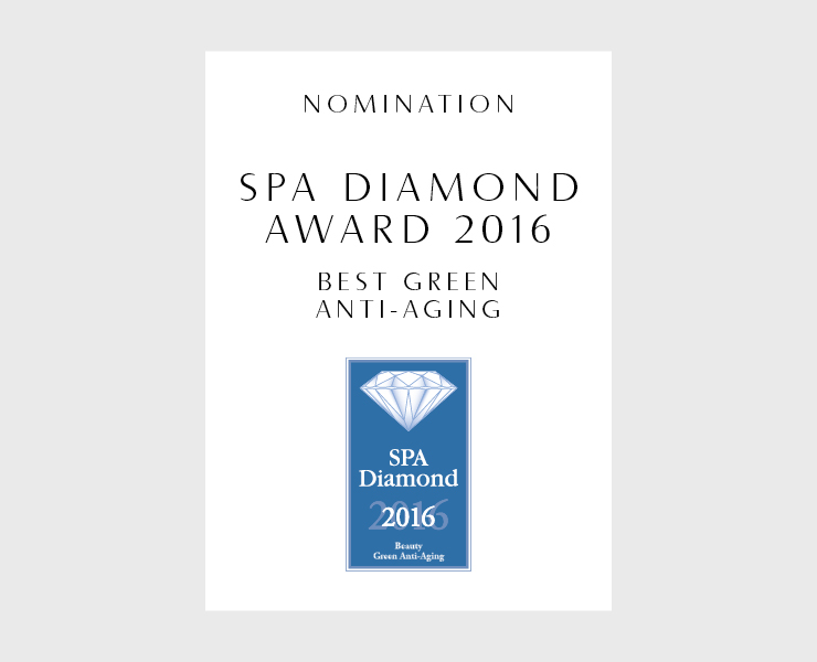 "Kosho Cosmetics ist beim SPA Diamond Award nominiert in der Kategorie ""Best Green Anti-Aging"""
