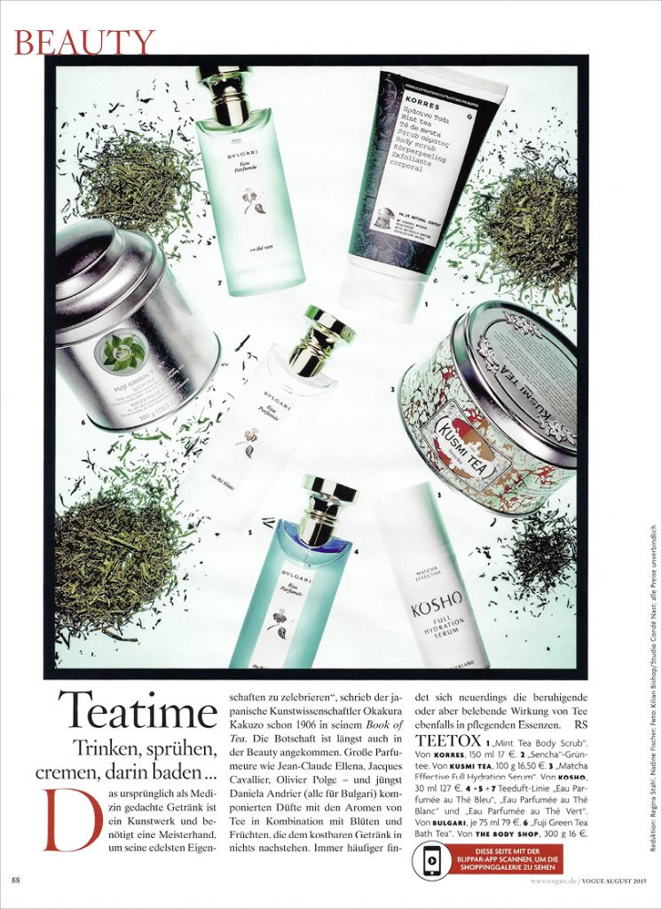 Kosho Cosmetics in der Vogue