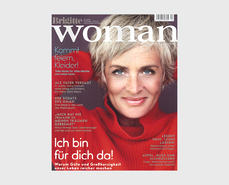 Kosho Cosmetics in der Brigitte Woman