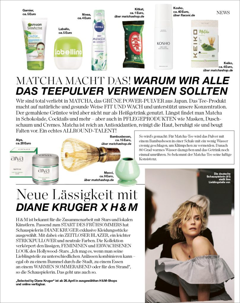 Kosho Cosmetics in der InTouch Style