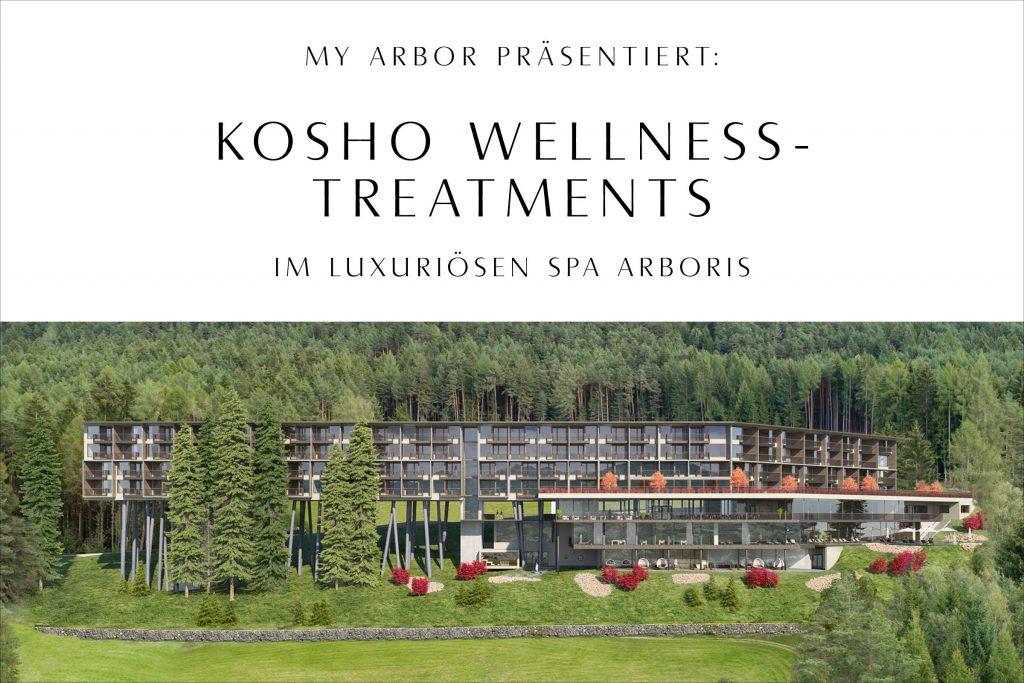 Kosho Cosmetics im My Arbor Baumhotel