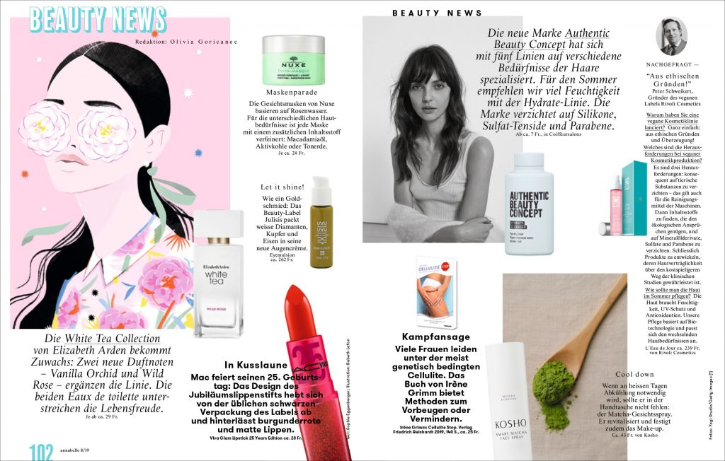 Kosho Cosmetics in der annabelle: Smart Matcha Face Spray