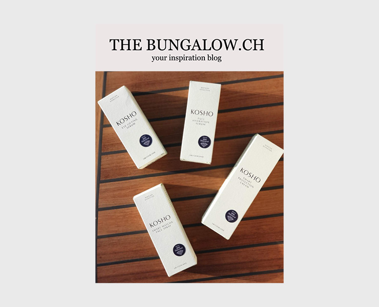 Kosho Cosmetics bei The Bungalow
