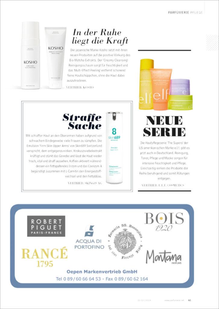 Kosho Cosmetics bei Parfümerie