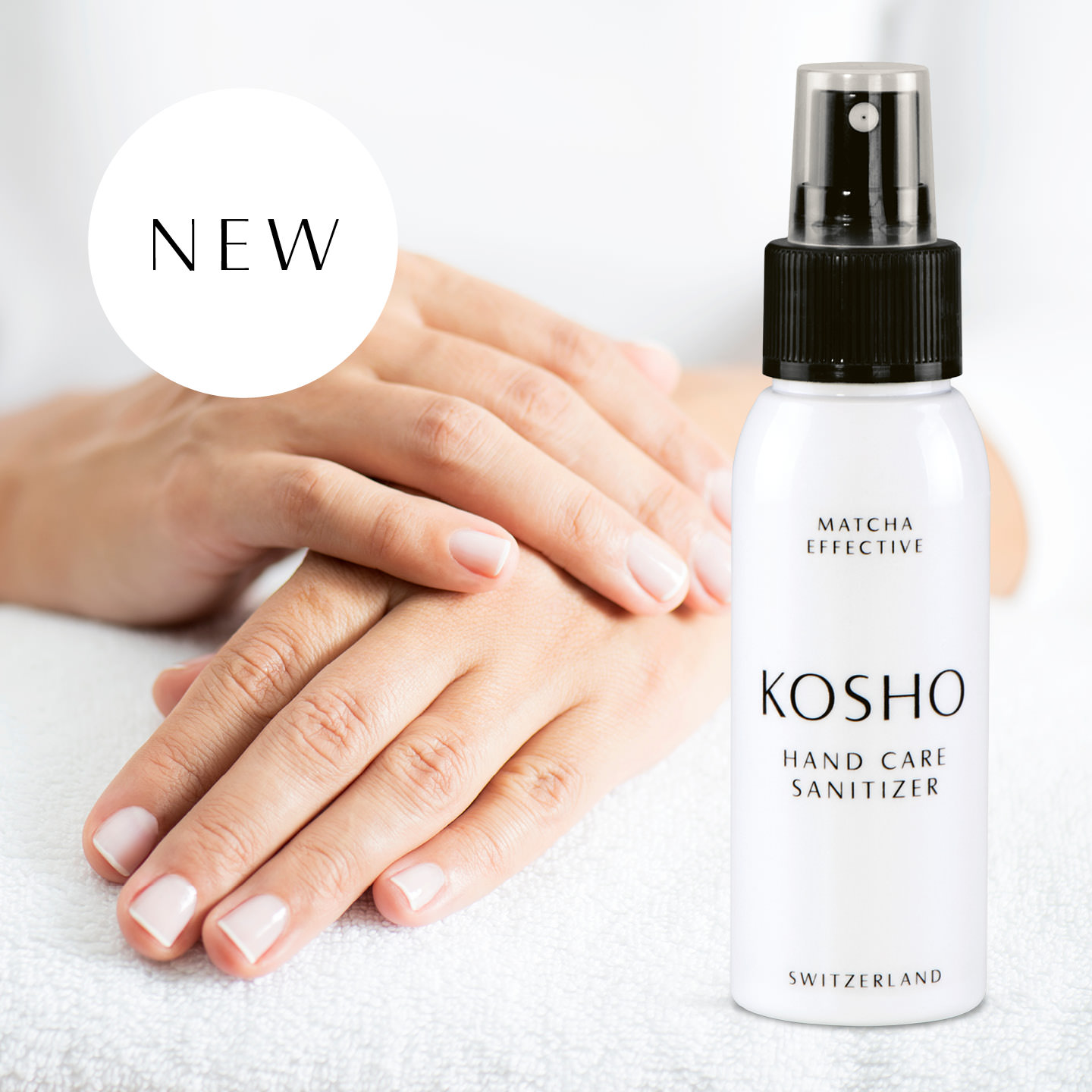 Kosho Cosmetics: Hand Care Sanitizer