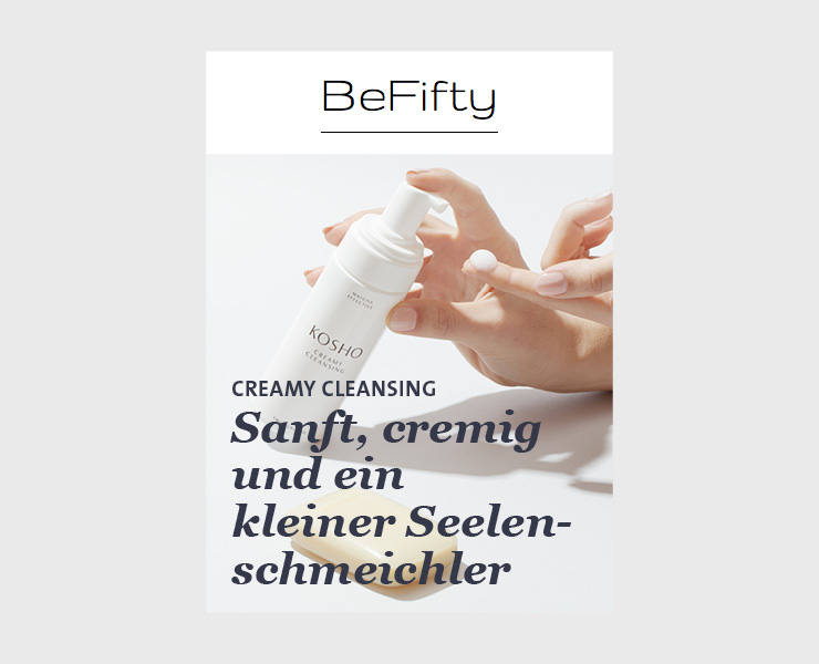 Kosho Cosmetics bei BeFifty: Creamy Cleansing