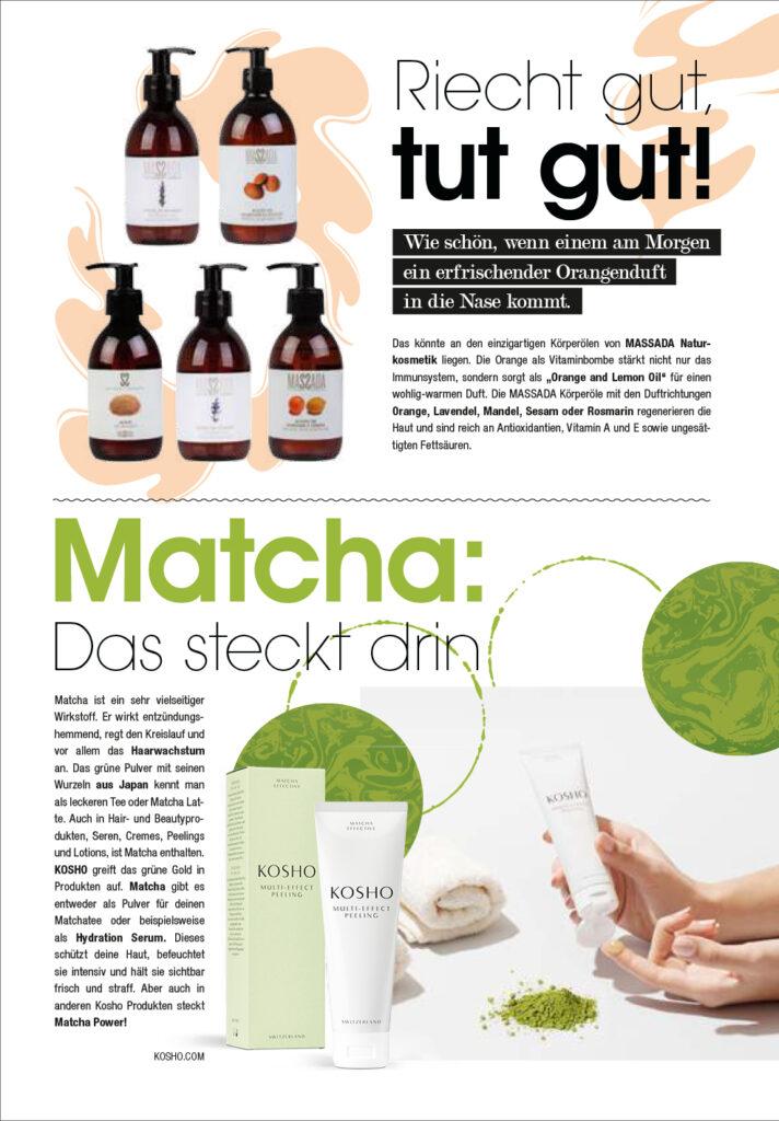 Kosho Cosmetics bei dfm: Matcha-Kosmetik