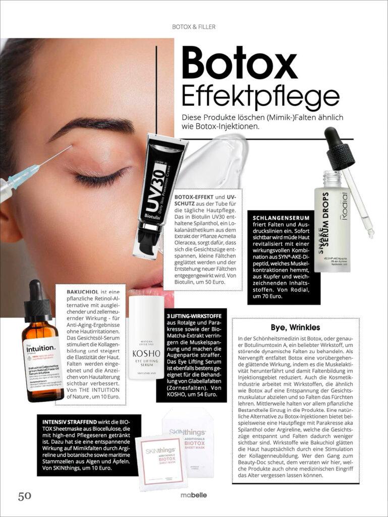 Kosho Cosmetics bei Mabelle: Eye Lifting Serum